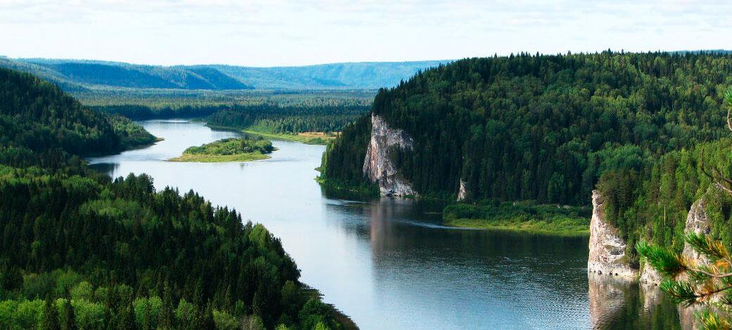 Виды Пермского края