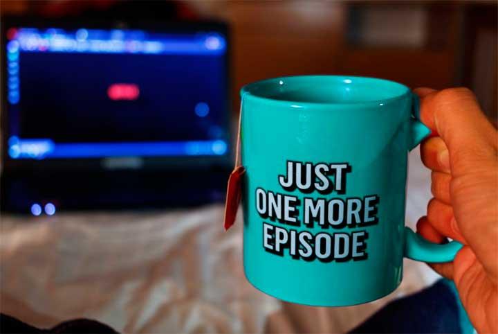 Binge-watching — просмотр запоем