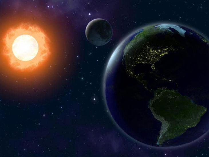 Расстояние до солнца и луны
