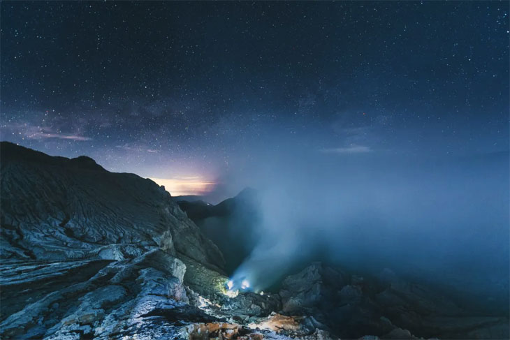 Гора Бромо